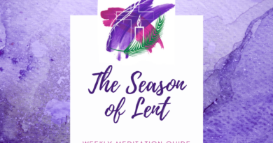 Lenten Devotional Materials