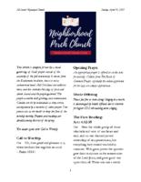 4 11 2021 Neighborhood Church