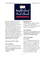4 18 2021 Neighborhood Church