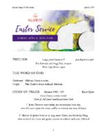 4 4 2021 9 AM Online Easter Sunday