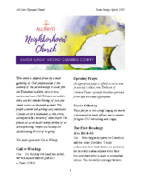 4 4 2021 Neighborhood Church
