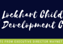 Lockhart Child Development Center Update